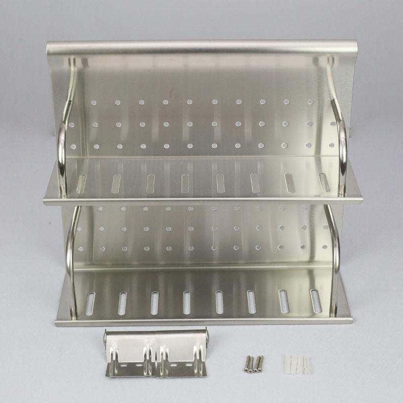 China Stainless Steel Wall Mounted Kitchen Rack Shelf Cg01 101