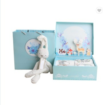 Hot Item Hotsale Paper Baby Clothes Blanket Packaging Decorative Gift Box