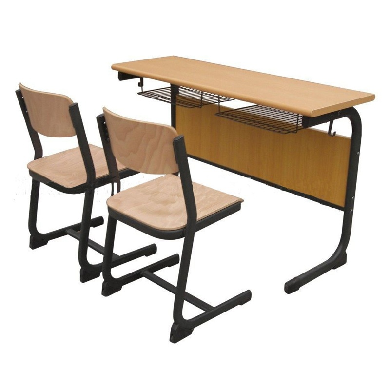 China School Classroom Modern Furniture Student Desk Chair Set Reading