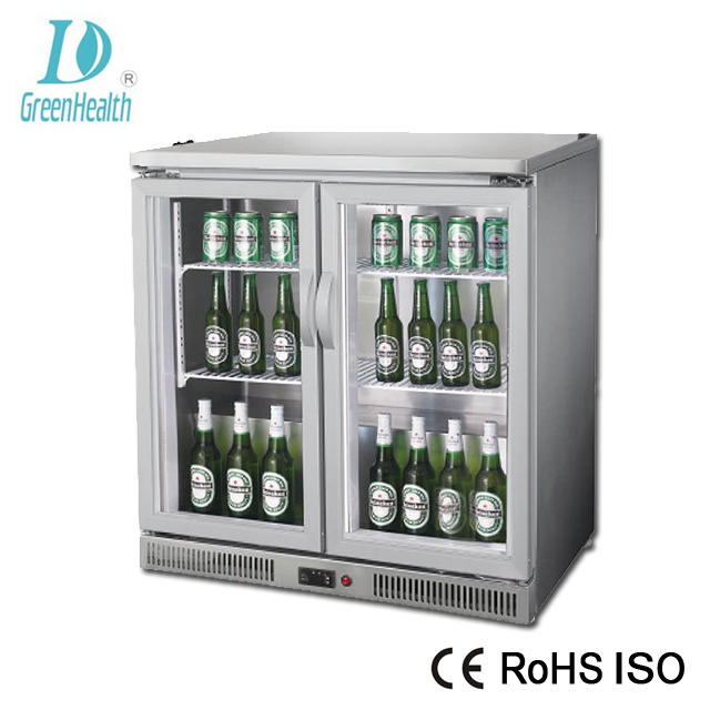 China Energy Saving Glass Door Beer Display Small Fridge Commercial Drink
