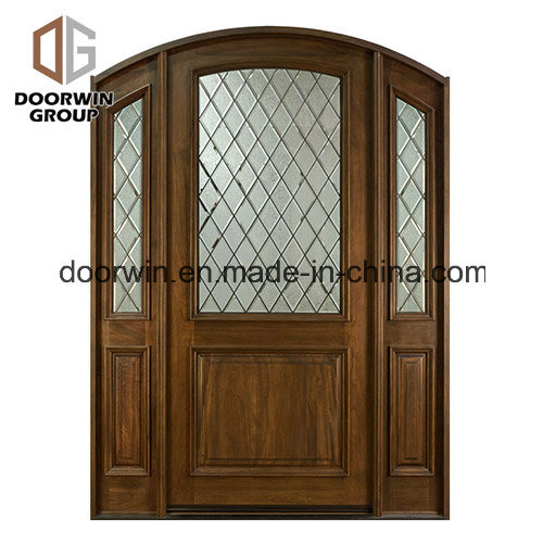 China Solid Wood One Sash Interior Wooden Hinged Door New Products