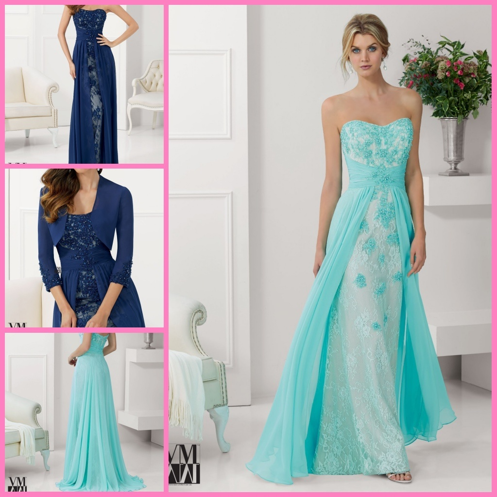 China Sheath Lace Party Cocktail Formal Gown Lace Chiffon