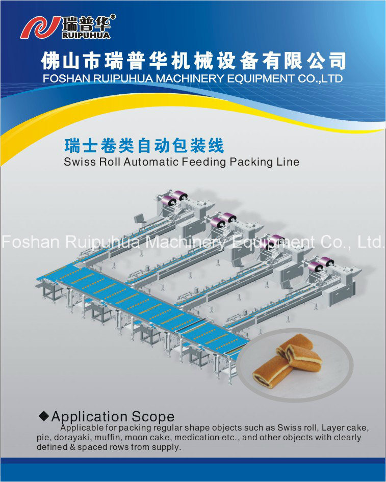 Cup Cake Multi-Line Automatic Package Machine pictures & photos
