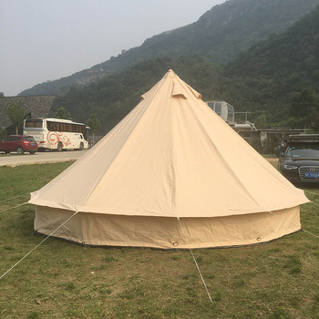 Round Circle Best Quality UK C&ing Outdoor Cotton 5m Bell Tent & China Round Circle Best Quality UK Camping Outdoor Cotton 5m Bell ...