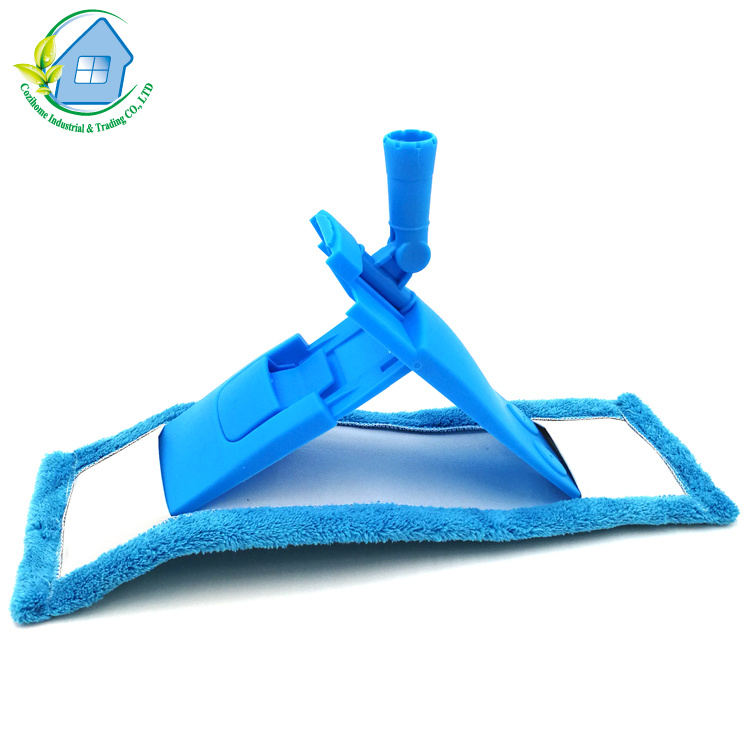 Household Cleaning Economic Microfiber Cloth Floor Flat Dust Sweeper Mop 1002
