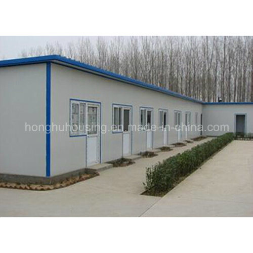 China Prefabricated Home Simple Design Flat Roof House China Prefabricated Home Container House