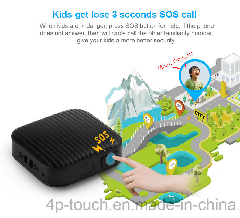 Portable Sos GPS Tracker for Emergency Situation (A18)