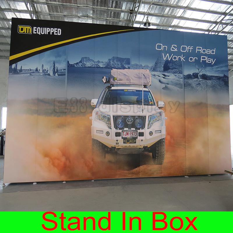 China Custom Portable Modular Trade Show Exhibition Display Booth - Portable car show display stand