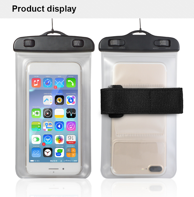 new product d3215 d9d83 [Hot Item] Waterproof Phone Pouch Clear Waterproof Case Underwater Phone  Pouch Bag Floating for Mobile Phone for iPhone X 8 7 6 6s Plus Galaxy for  ...
