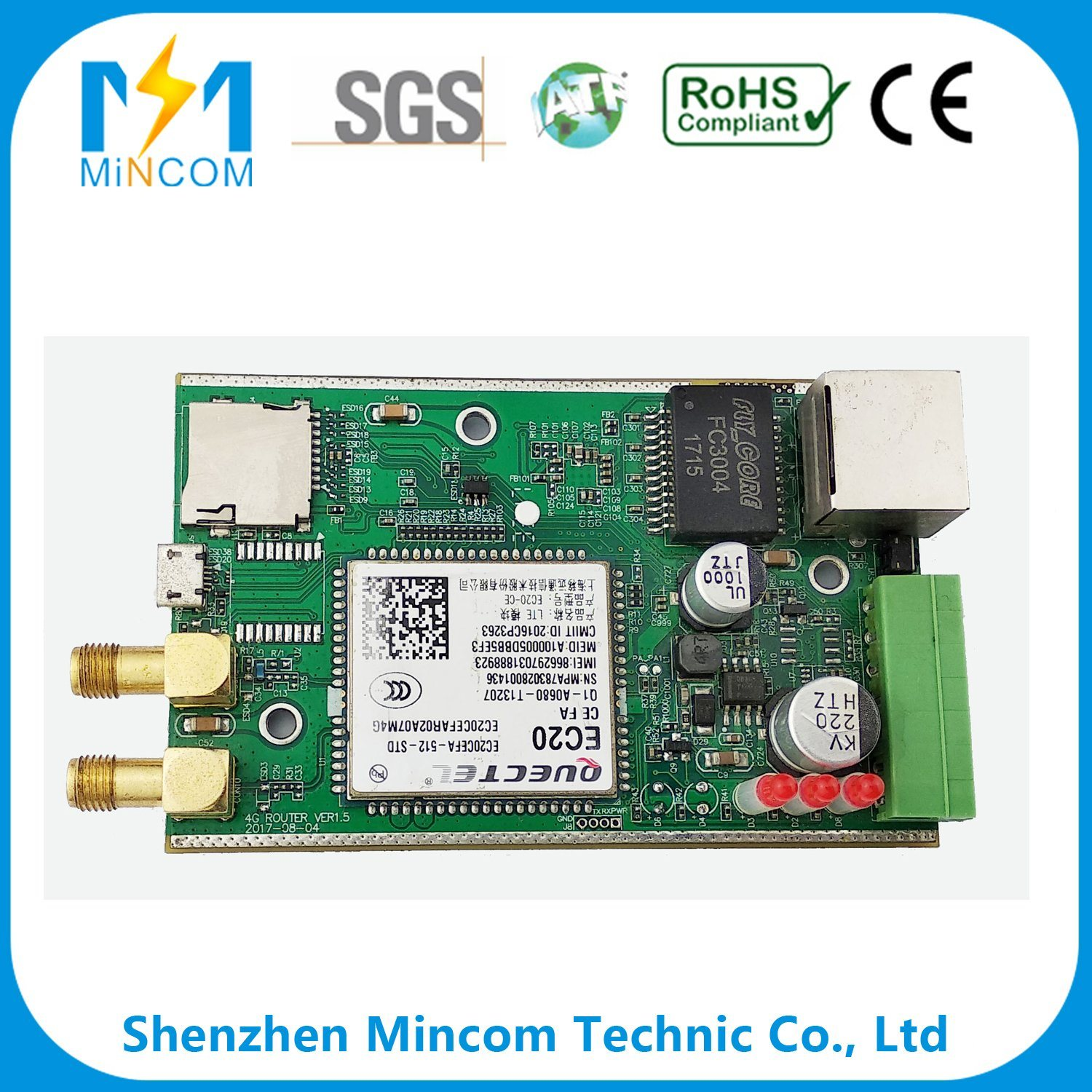 Wholesale Printed Circuit Pcb Buy Reliable Boardrf4 Oem Multiplayer Board Customized High Quality Industrial Controlling