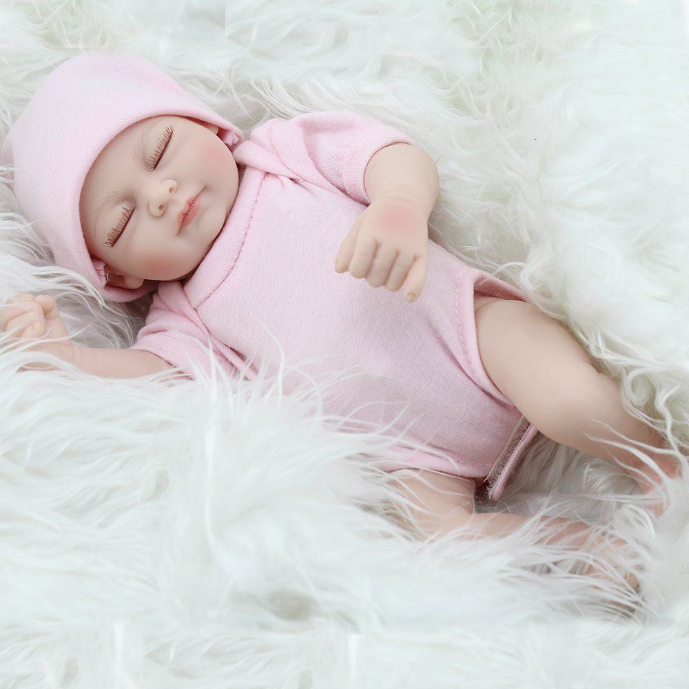 Reborn Doll Silicone Full Body Lovely Baby Partners Lifelike Washable Boy 20/""