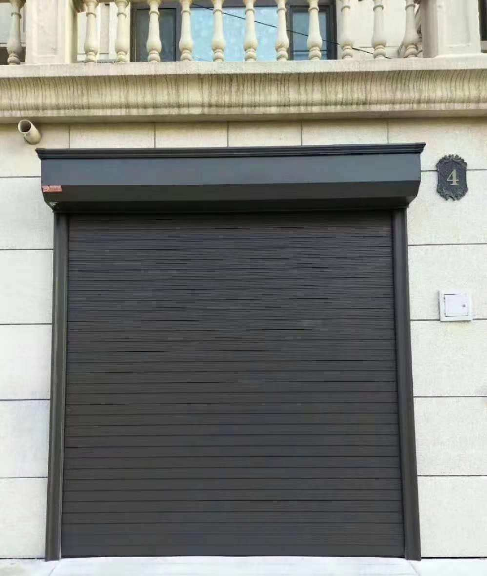 China Commercial Vertical Sliding Residential Safety Aluminum Alloy Sectional Roller Garage Door China Overhead Door Roller Shutters