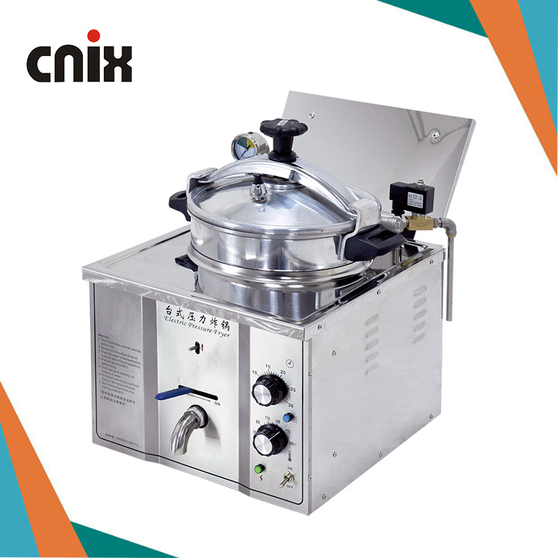 China 16l Broaster Pressure Fryer Pressure Fryer Home Counter Top Pressure Fryer Mdxz 16 China Broaster Chicken Machine Home Use Turkey Fryer