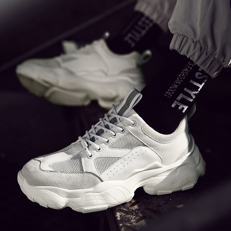 2019 Latest White Rubber Sports Shoes