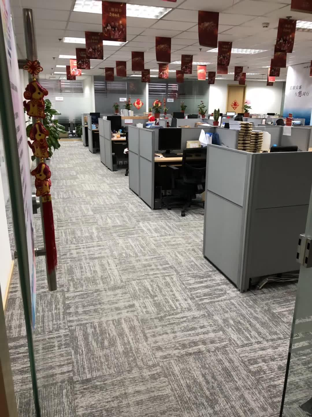 China 50x50cm Plain Old Design Multi Level Loop Machine Customized Office Carpet Conference Room Carpet Tiles High End Office Carpet Tile China Carpet Tile And Office Carpet Price