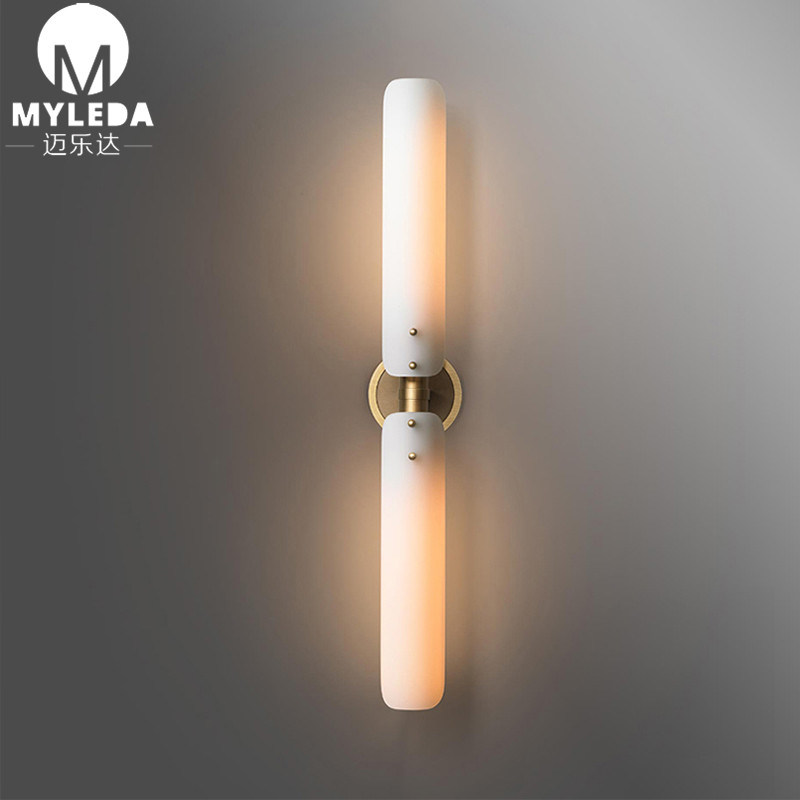 China Modern Vanity Copper Wall Sconce, Wall Lights For Bathroom