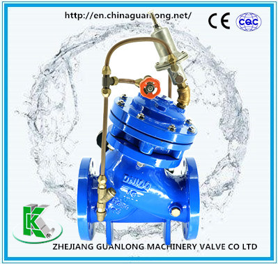 Globe Double Chamber Automatic Quick Safety Pressure Relief / Sustaining Valve pictures & photos