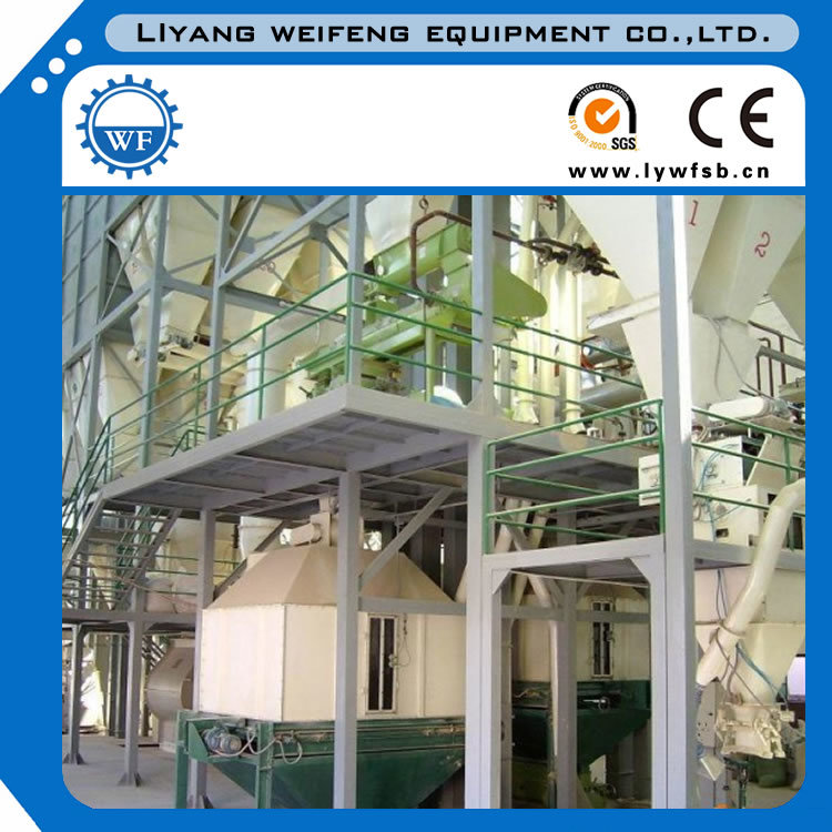 1-3tph Poultry Chicken Cattle Feed Line Small Feed Pellet Plant pictures & photos