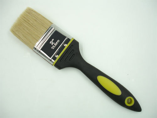 White Bristle Brush with Special Plastic Handle