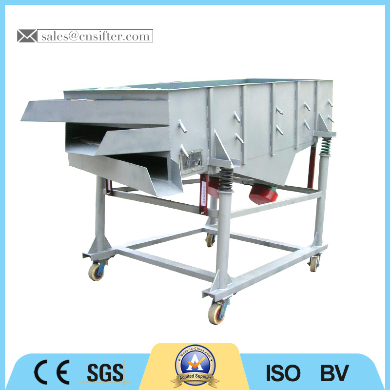 Carbon Steel Linear Vibrating Sieve with Factory Price