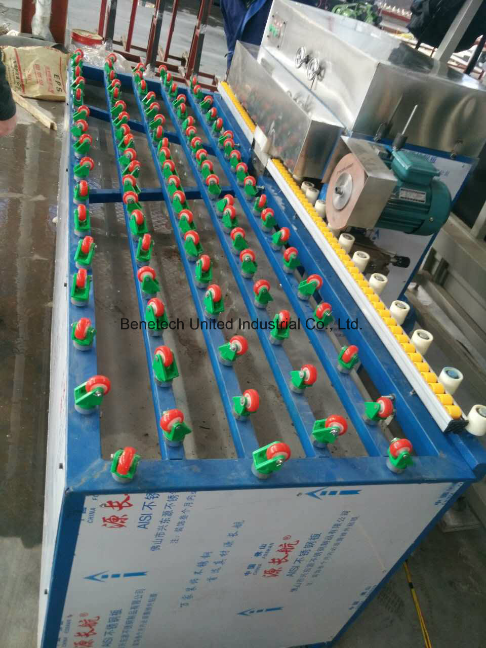 Four Sides Glass Edging Machine, Glass Ariser, Glass Rough Edging Machine