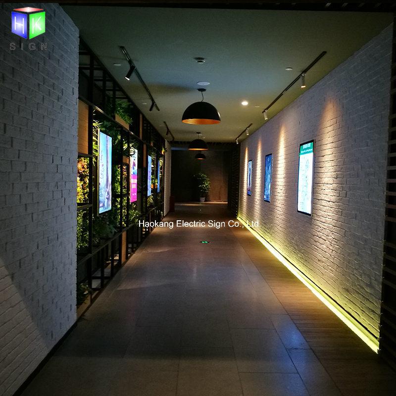 China 27 X 40 Inch LED Backlit Adertising Movie Poster Frame Light ...