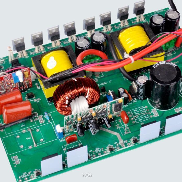 China 1000W Power Inverter DC 12V to AC 220V Circuit Diagram Solar