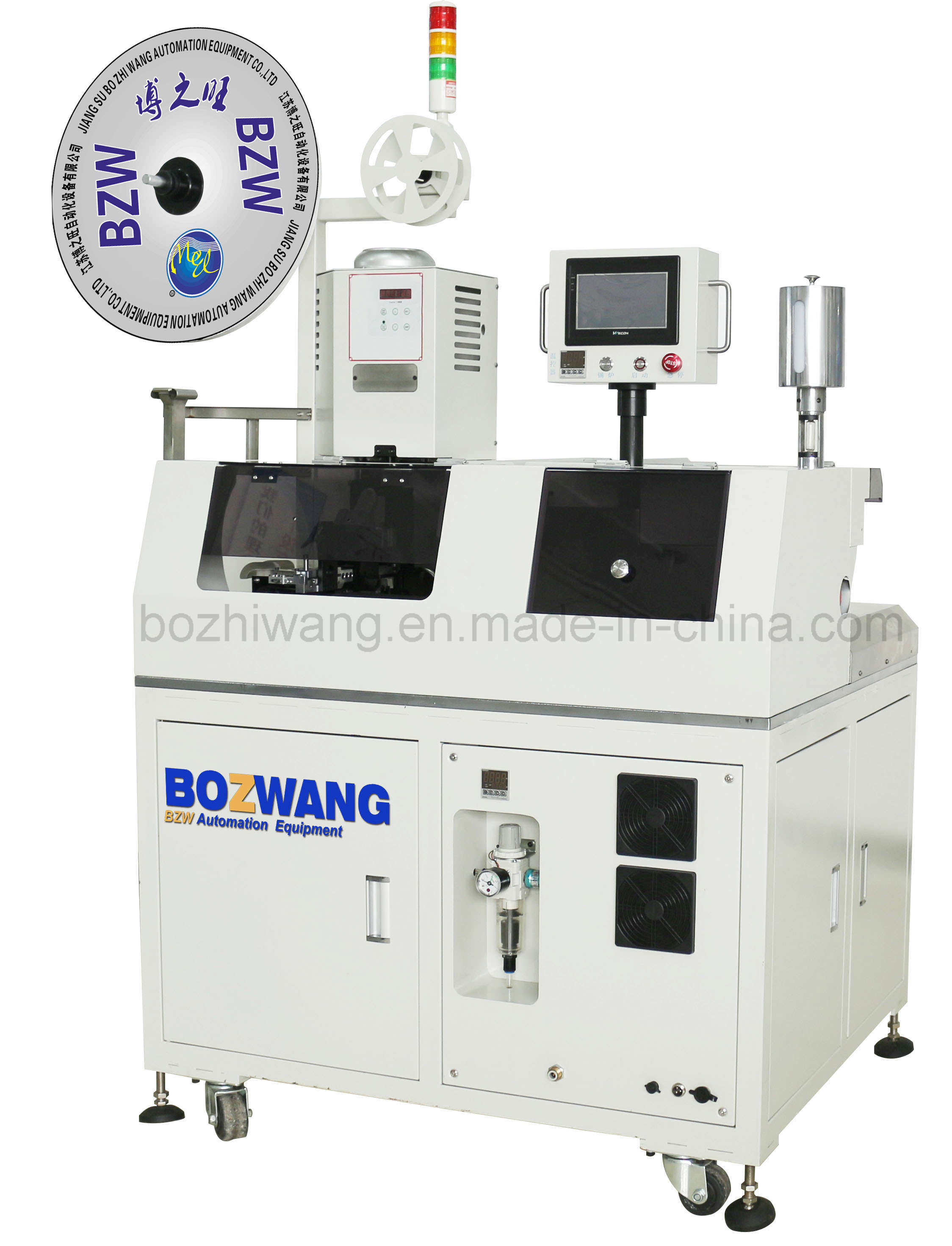 China Automatic Ribbon Cable Single End Twisting, Tinning and ...