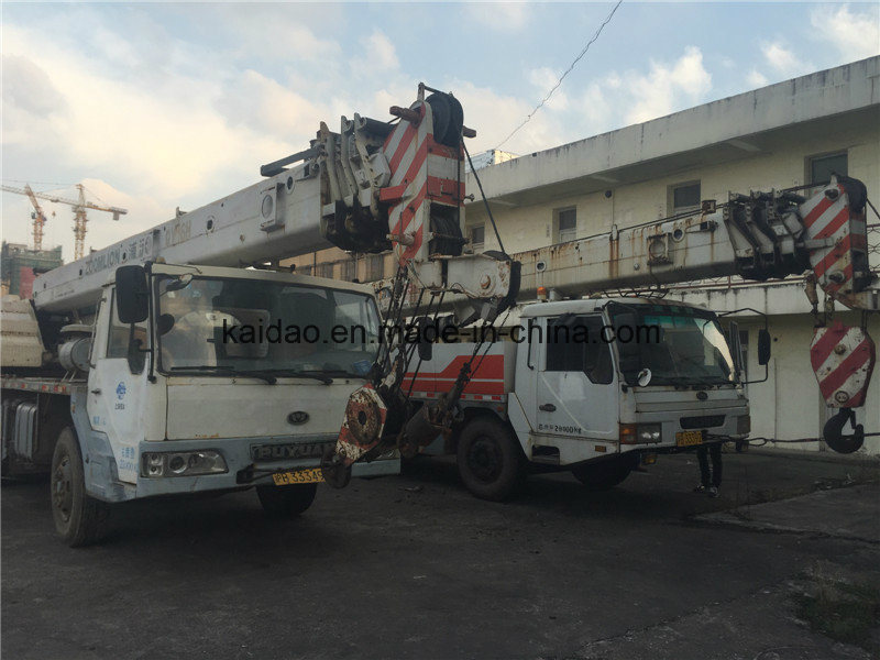 Used 25ton Zoomlion Mobile Truck Crane Qy25h pictures & photos