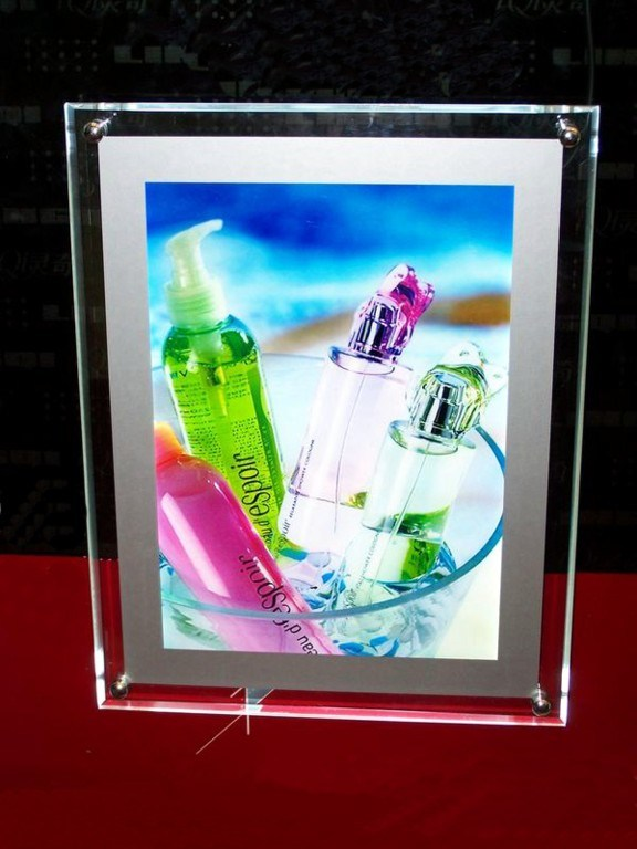 LED Photo Frame Acrylic Display