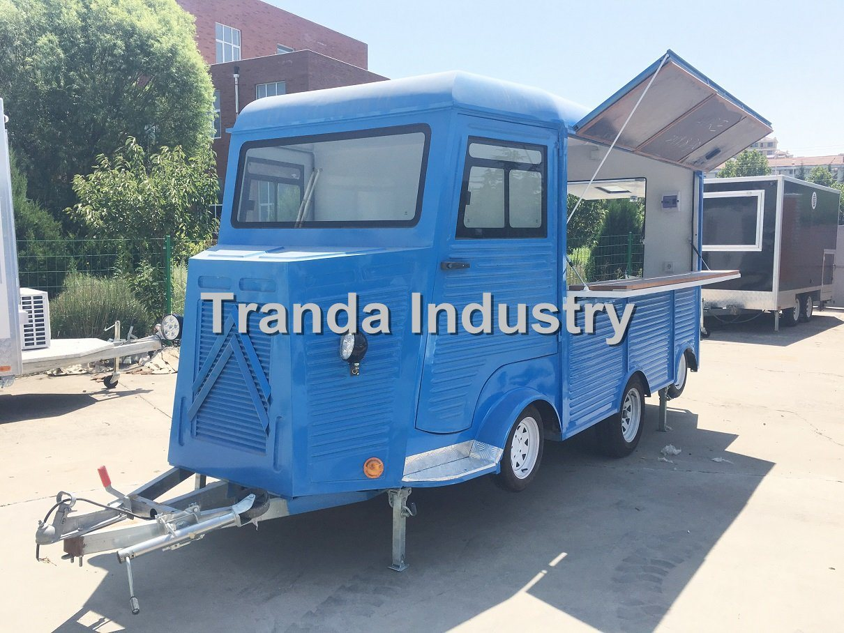 China 2019 Hot Selling Citroen H Van Food Truck For Sale China Citroen Hy Van Food Trailer