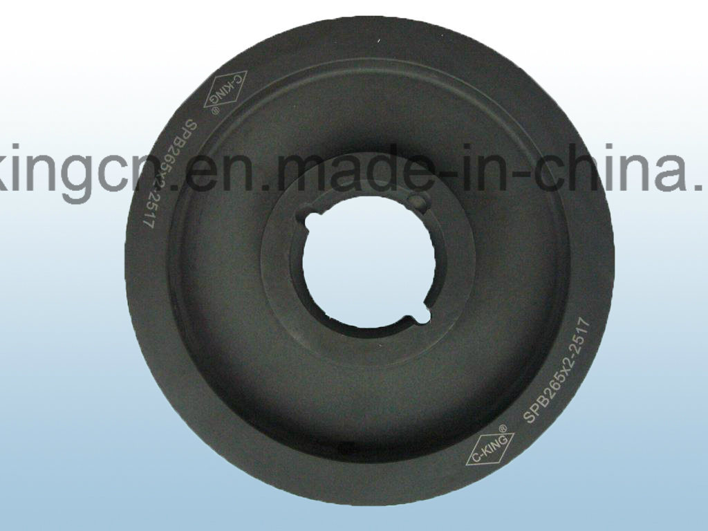 C-King Cast Iron Taper Lock Pulley pictures & photos