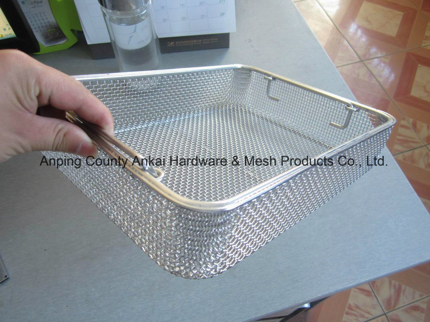China High Quality Stainless Steel Wire Mesh Sterilizing Basket ...