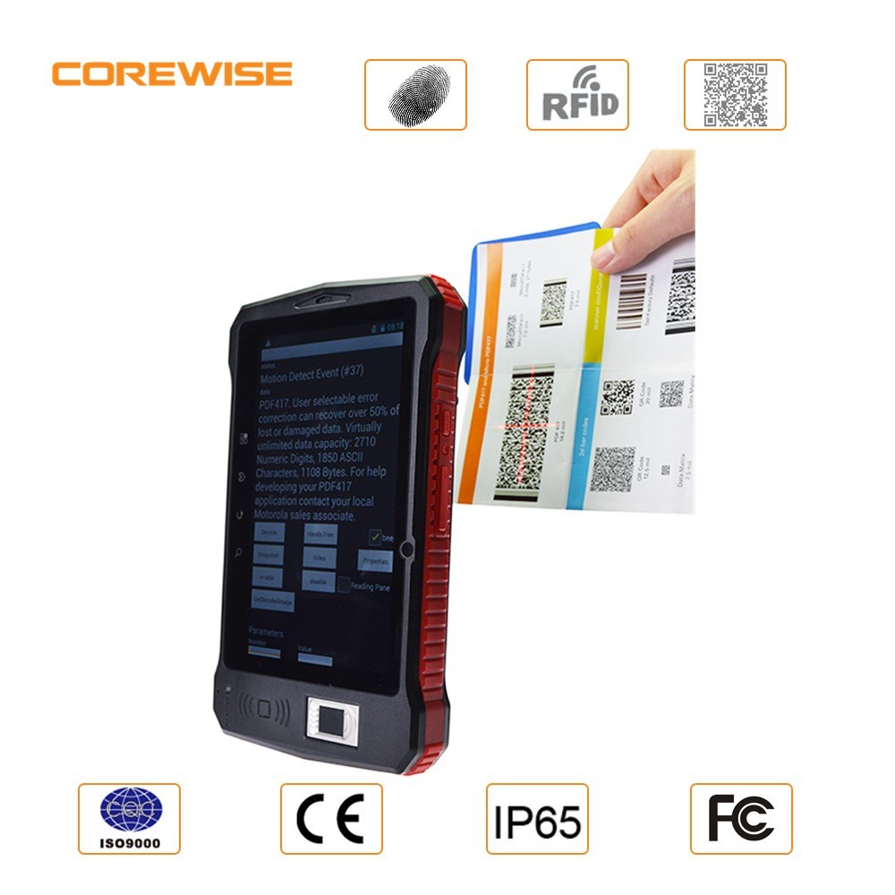 [Hot Item] Best Price 7 Inch City Call Android Phone Tablet PC with RFID  Smart Card Reader, Fingerprint Reader, Barcode Scanner