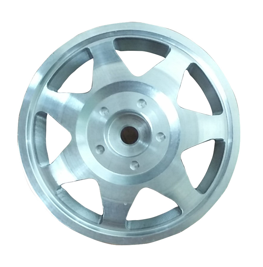 High Quality CNC Machined Polished Aluminum Wheel for RC Car pictures & photos
