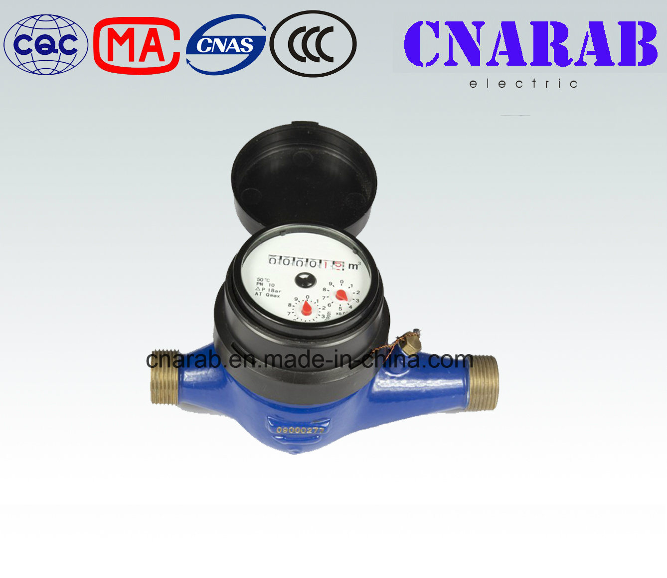 Multi Jet Vane Wheel Water Meter