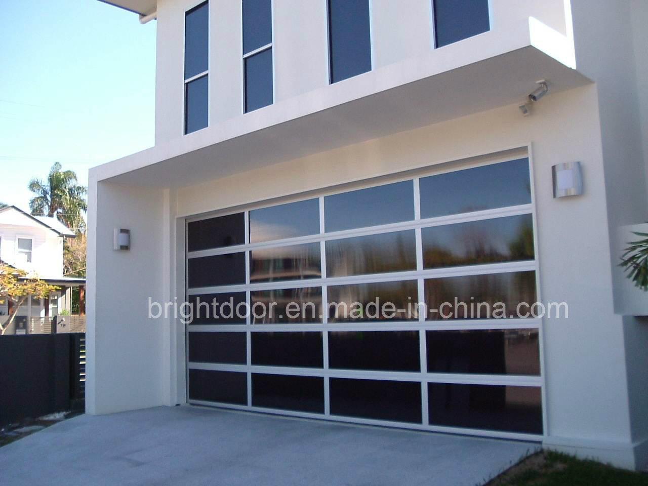 China Contemporary Glass Aluminum Garage Doors China Garage Door Contemporary Glass Garage Door