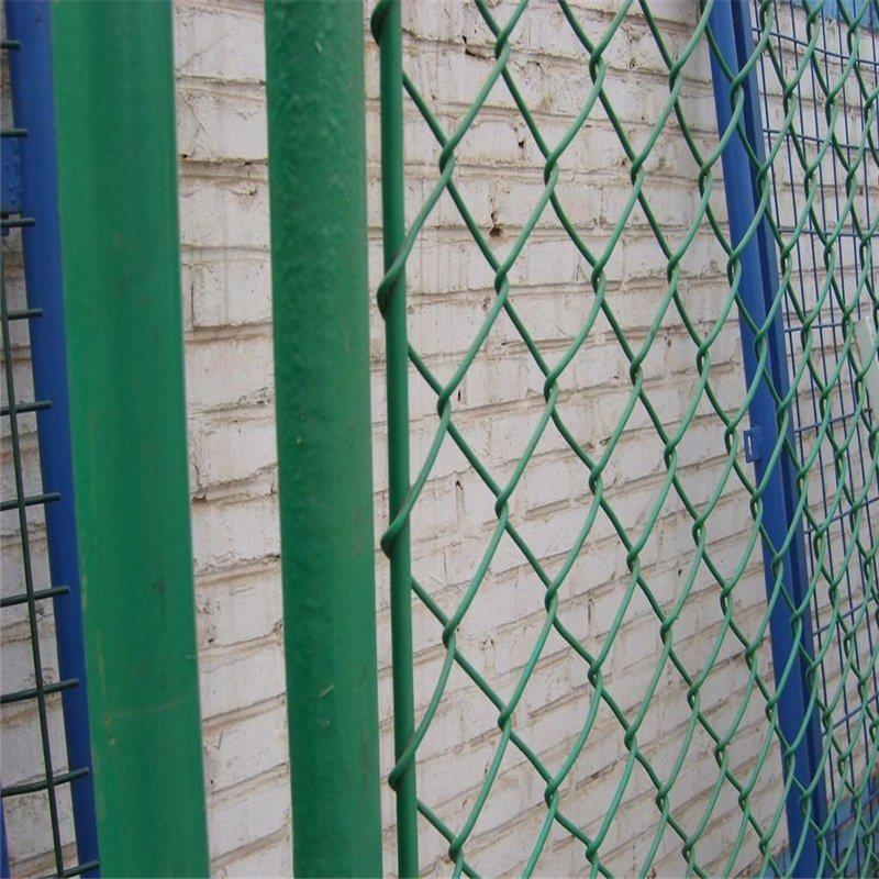 China PVC Coated Chain Link Wire Mesh Panel - China Anti Climb ...