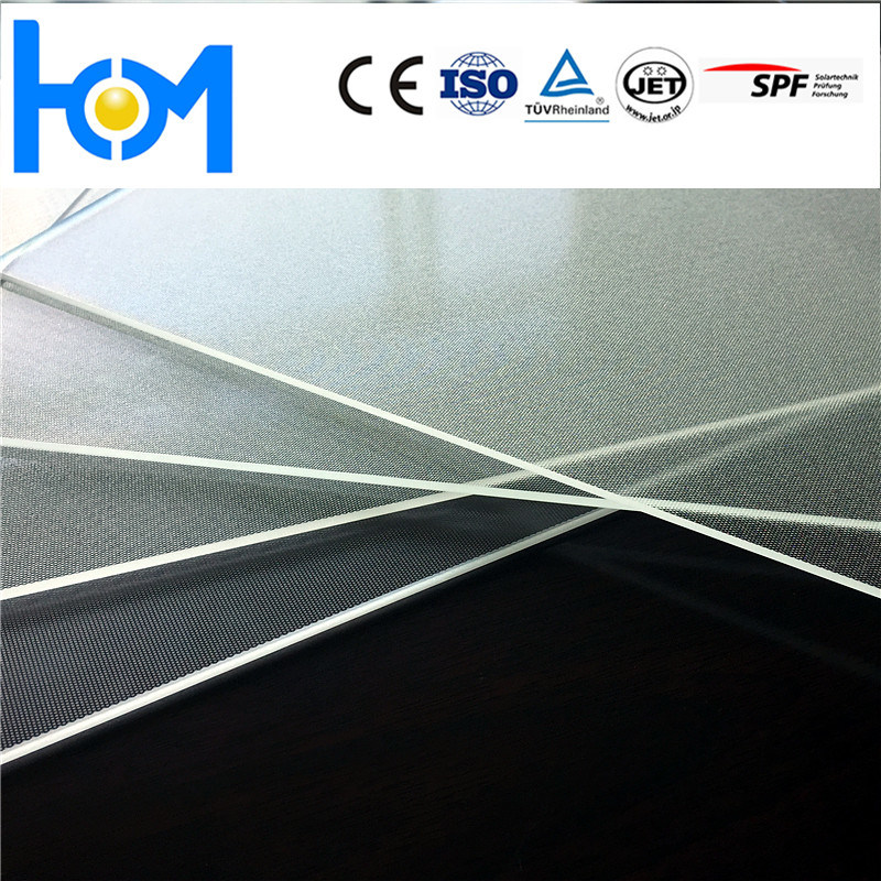 1950*985mm*3.2mm Anti Reflective Solar Tempered Coated Panels Glass