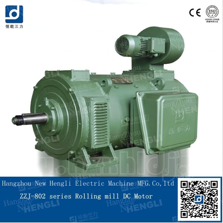 China Zzj802b 5.6kw 800rpm 220-440V DC Electric Motor - China Electric Motor, Motor