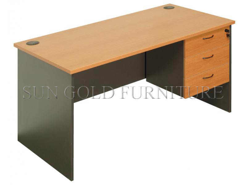 [Hot Item] Modern Cheap Melamine Particle Board Small Office Computer Desk  (SZ-CD004)