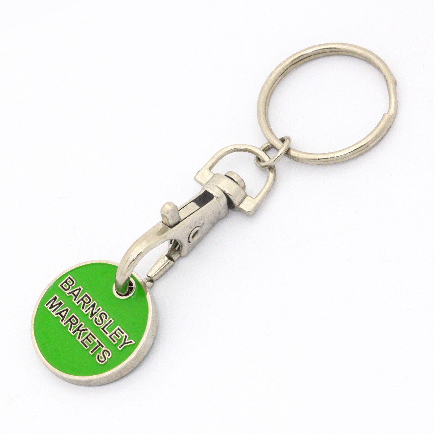 Promotional Metal  Trolley  Coin  Key  Chain pictures & photos