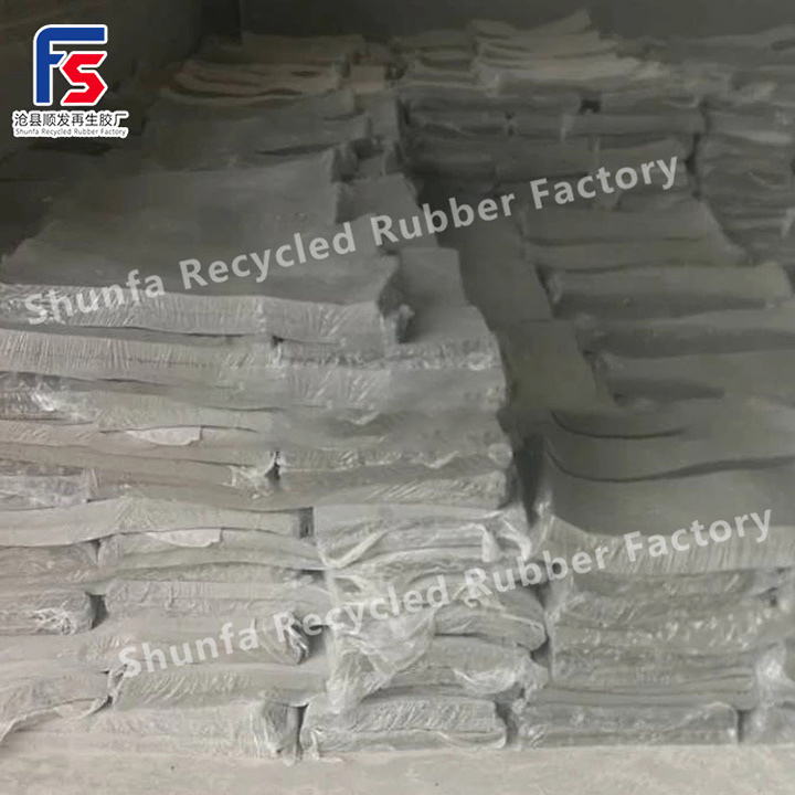 China Light Color Recycled Rubber Pp