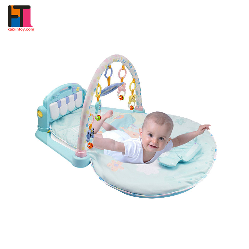 Non-Toxic Fabric Baby Mat Piano Folding Baby Play Mat with Sides pictures & photos