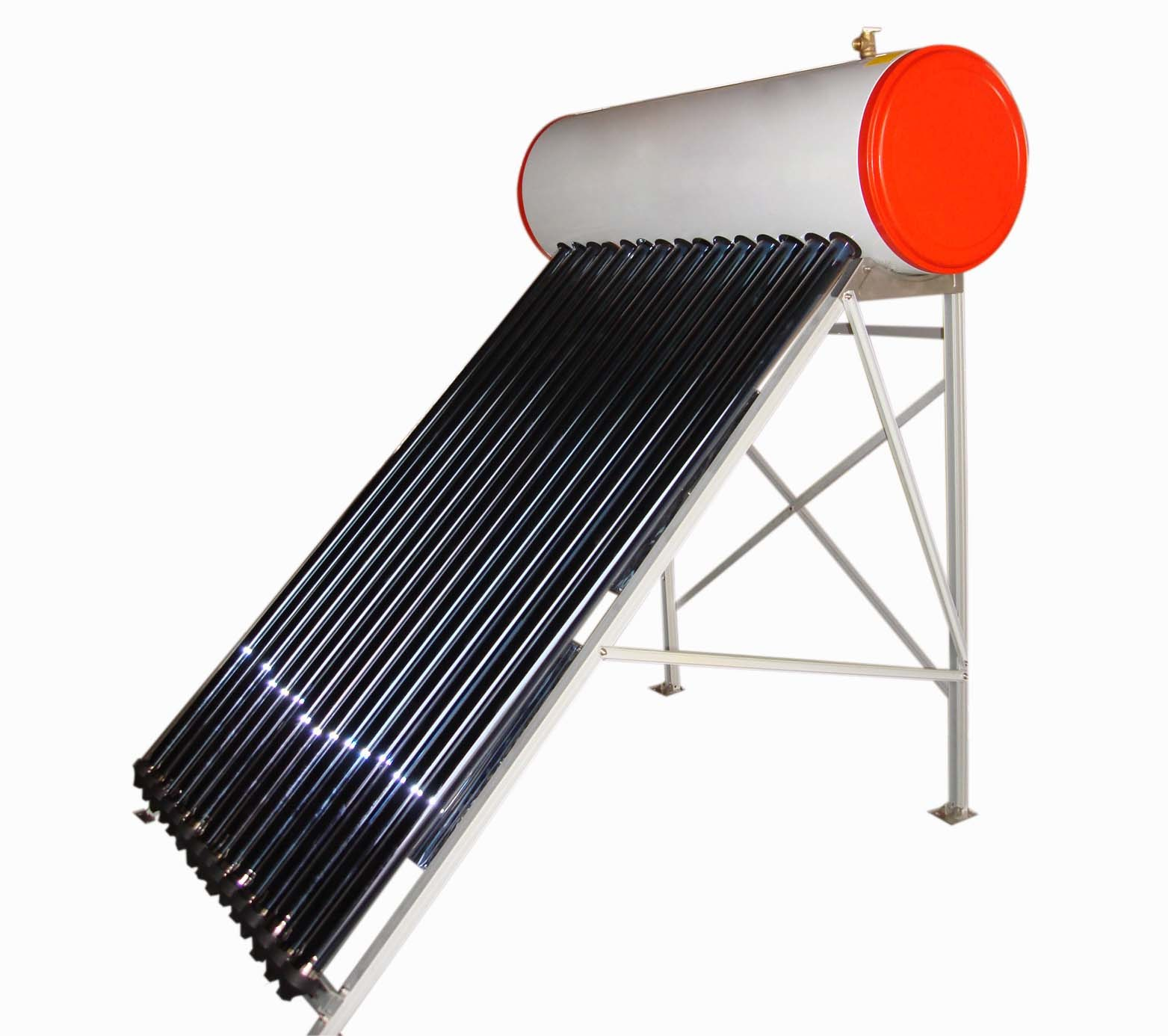 Low Pressure Homemade Solar Panels to Heat Water