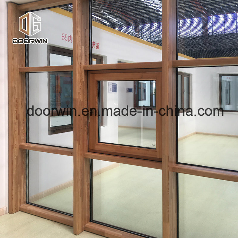 China Type Of Office Window Curtain Teak Wood Partition Glass Wall   China  Tilt And Turn Window, Casement Window