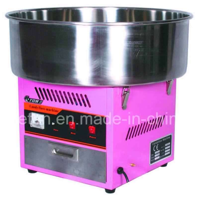 China Electric Candy Floss Machine Cotton Candy Machine With Cover