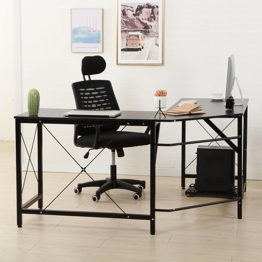 - China Modern Design L-Shaped Desk Corner Computer Desk PC Laptop