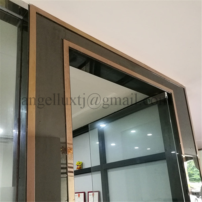China Custom Color Stainless Steel Interior Door Frame U Channel