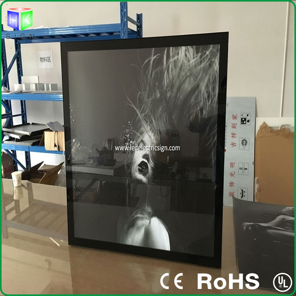 Aluminum Magnetic Frame Advertising LED Light Box for Advertising Display pictures & photos